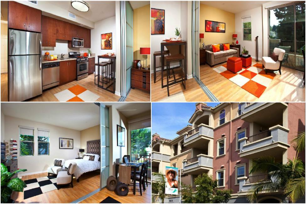 marvelous la studio apartments photos exterior ideas 3d. Black Bedroom Furniture Sets. Home Design Ideas